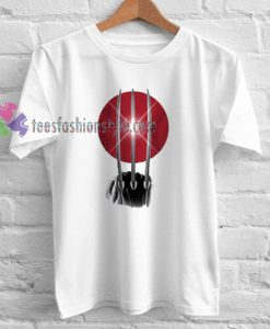 Wolverine Rising Claw T-shirt gift