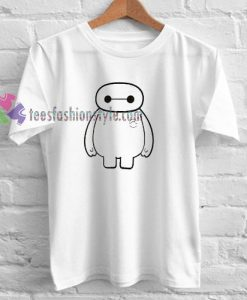 Big Hero Six Baymax T-shirt gift