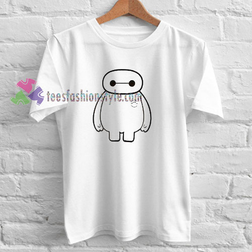 Big Hero Six Baymax T-shirt gift