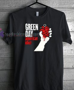 Green Day American Idiot T-shirt gift