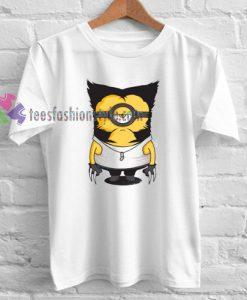Minions Wolverine T-shirt gift