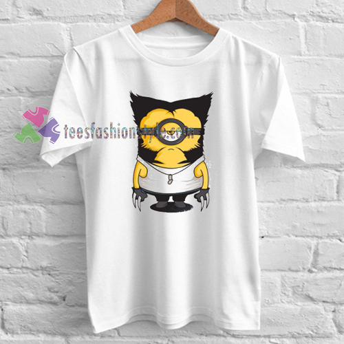 Minions Wolverine T-shirt gift