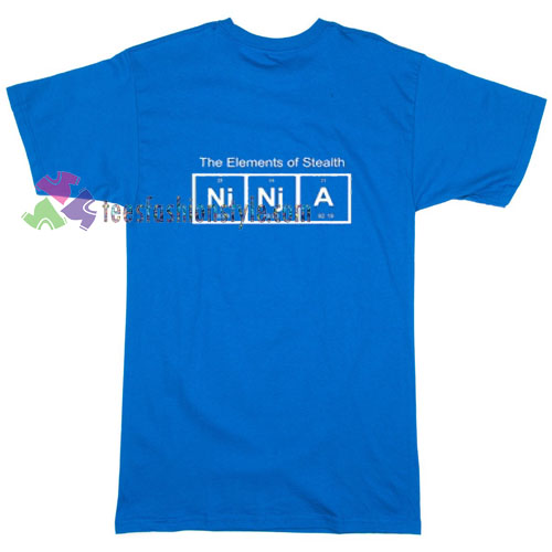 NINJA Elements Of Stealth T-shirt gift