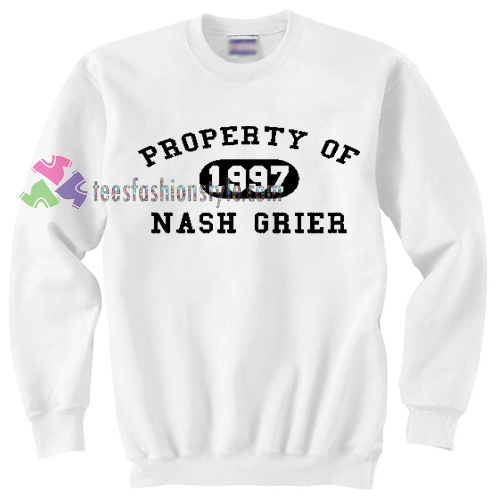 Property of Nash Grier Sweater gift