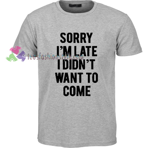 Want To Come T-Shirt gift