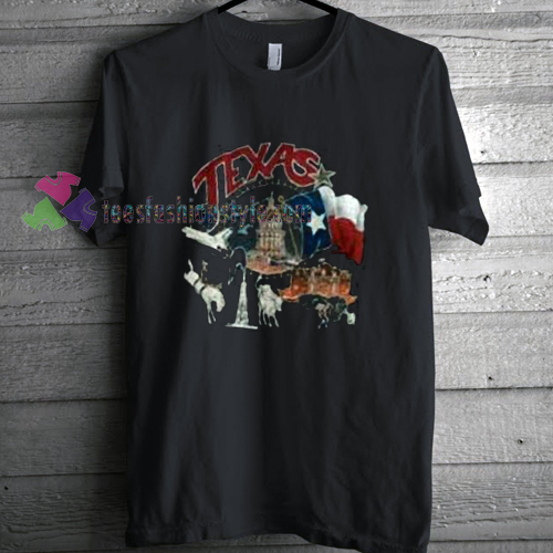 Texas State Black T-Shirt