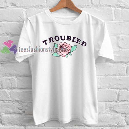 HORNSS Troubled Rose T-shirt gift