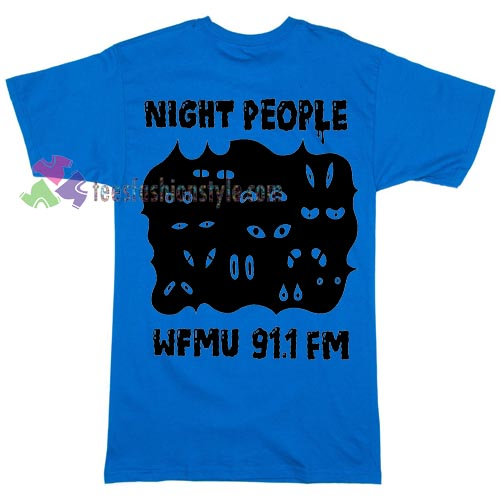 Night People WFMU Radio T-shirt gift