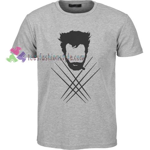 Wolverine Silhouette T-shirt gift
