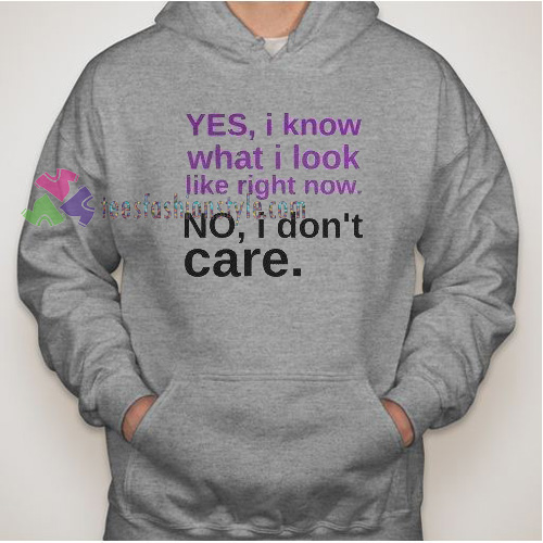 What I Look Hoodie gift