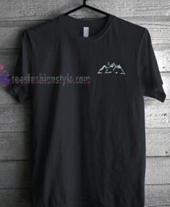 triple mountain T Shirt gift