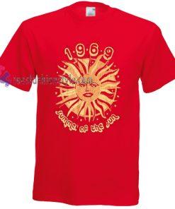 1969 summer of the sun Tshirt gift