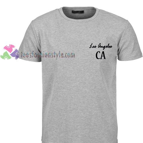 Los angeles ca tshirt gift adult unisex custom clothing for Custom dress shirts los angeles