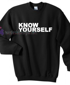 know yourself sweater gift