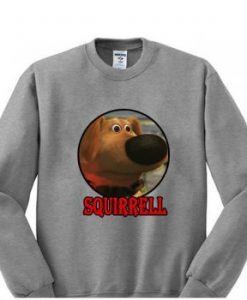 squirrel dog up movie sweater gift