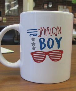 All American Boy independence day mug gift