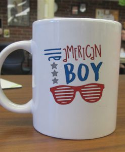 All American Boy independence day mug gift