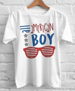 All American Boy independence day tshirt gift