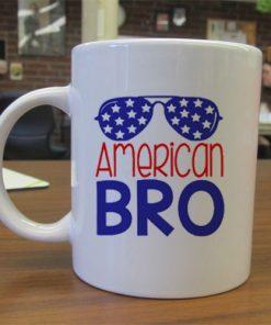 American Bro independence day mug gift