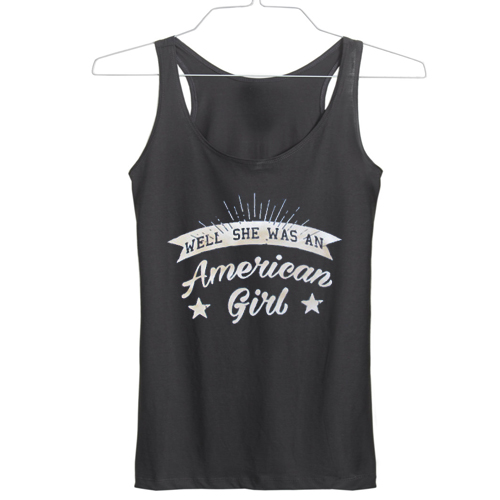 American girl independence day tanktop gift
