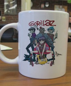 Gorillaz Alertnative Pop Punk Rock mug gift