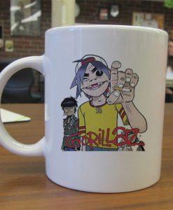 Gorillaz Alertnative Punk Rock mug gift