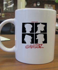 Gorillaz Demon Days mug gift