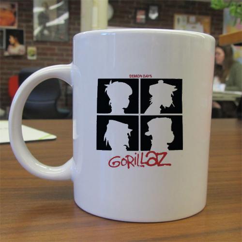 Gorillaz Demon Days mug gift