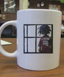 Gorillaz feel good mug gift