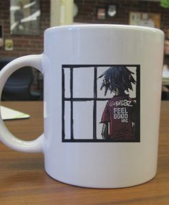 Gorillaz feel good mug gift
