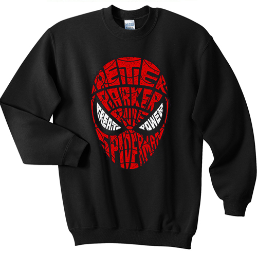 SpiderMan Geek homecoming sweater gift