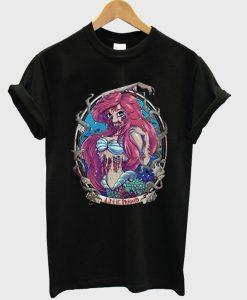Zombie Disney Princess Ariel Mermaid Tshirt gift
