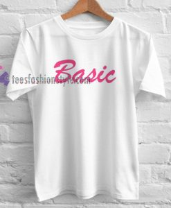 basic font Tshirt gift