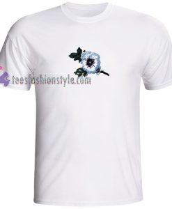 blue flower Tshirt gift