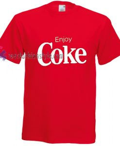 enjoy coke Tshirt gift