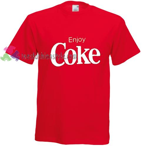 enjoy coke Tshirt gift