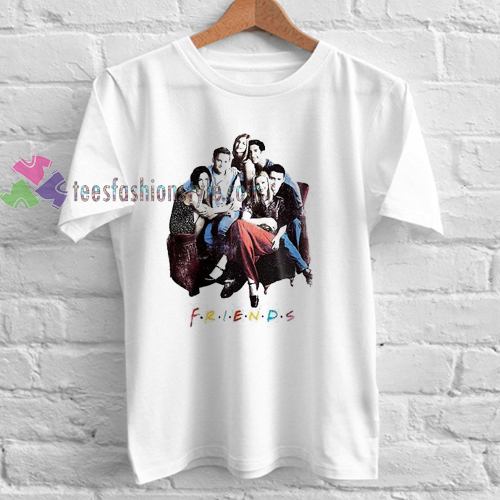 friends tv show Tshirt gift adult unisex custom clothing Size S-3XL ... cb056938e