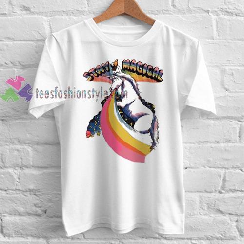 stay magical unicorn Tshirt gift
