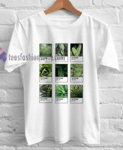 tattone plants Tshirt gift