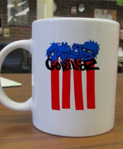 Gorillaz Lines mug gift