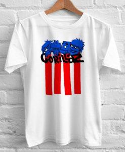 Gorillaz Lines tshirt gift