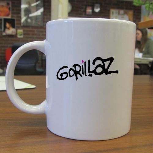 Gorillaz Logo mug gift