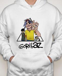 Gorillaz Pyramid hoodie gift