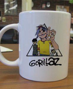 Gorillaz Pyramid mug gift