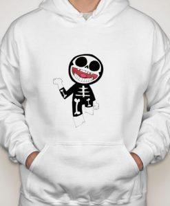 Gorillaz Skeleton hoodie gift
