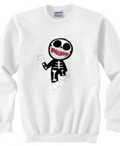 Gorillaz Skeleton sweater gift