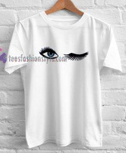 Lashes eyes tumblr tee Tshirt gift