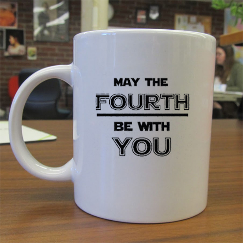 May The Fourth Independence Day mug gift