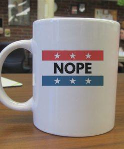 USA Nope Baseball independence day mug gift