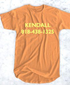 kendall 818-438-1325 tee Tshirt gift